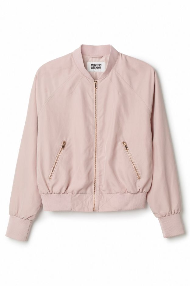 Best 25  Light pink bomber jacket ideas on Pinterest | Winter ...