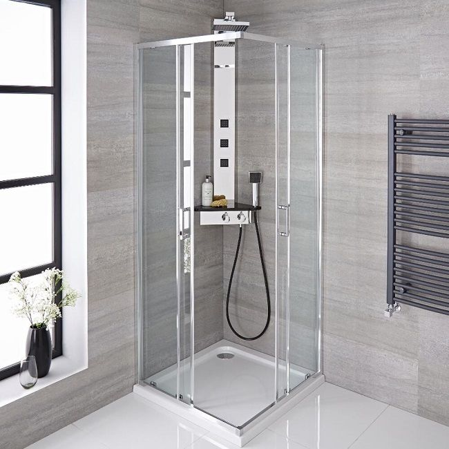 The Best Shower Enclosures For Maximising Space In Small Bathrooms Shower Enclosure Small Bathroom