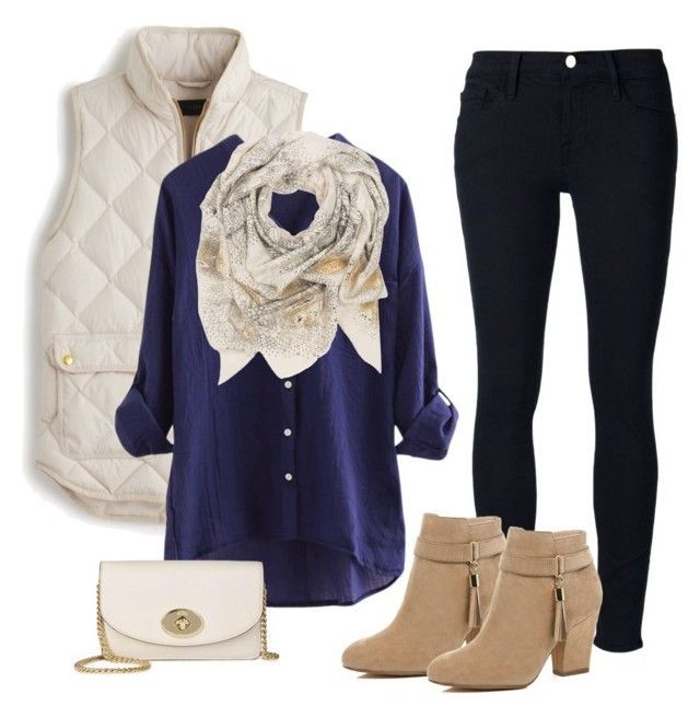 Back to school + prep + puffy vest! by cakard on Polyvore featuring polyvore, fa… – Ari