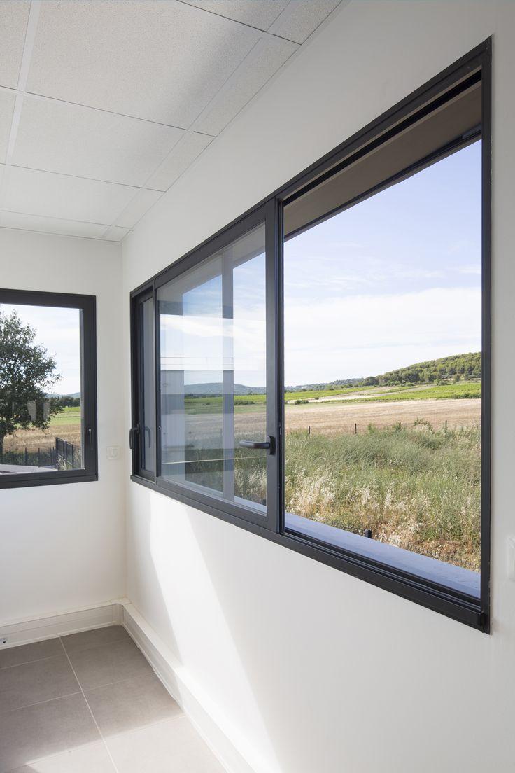 17 meilleures id es propos de baie vitr e coulissante for Modele verriere interieur
