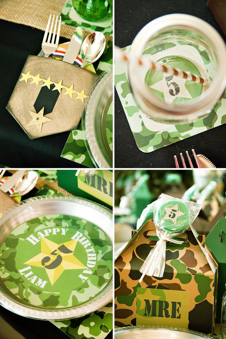 The 25+ best Army party themes ideas on Pinterest | Camo birthday ...