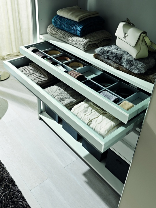 Tie And Belt Drawer By Zalf Home Furnishings. Wardrobe ...