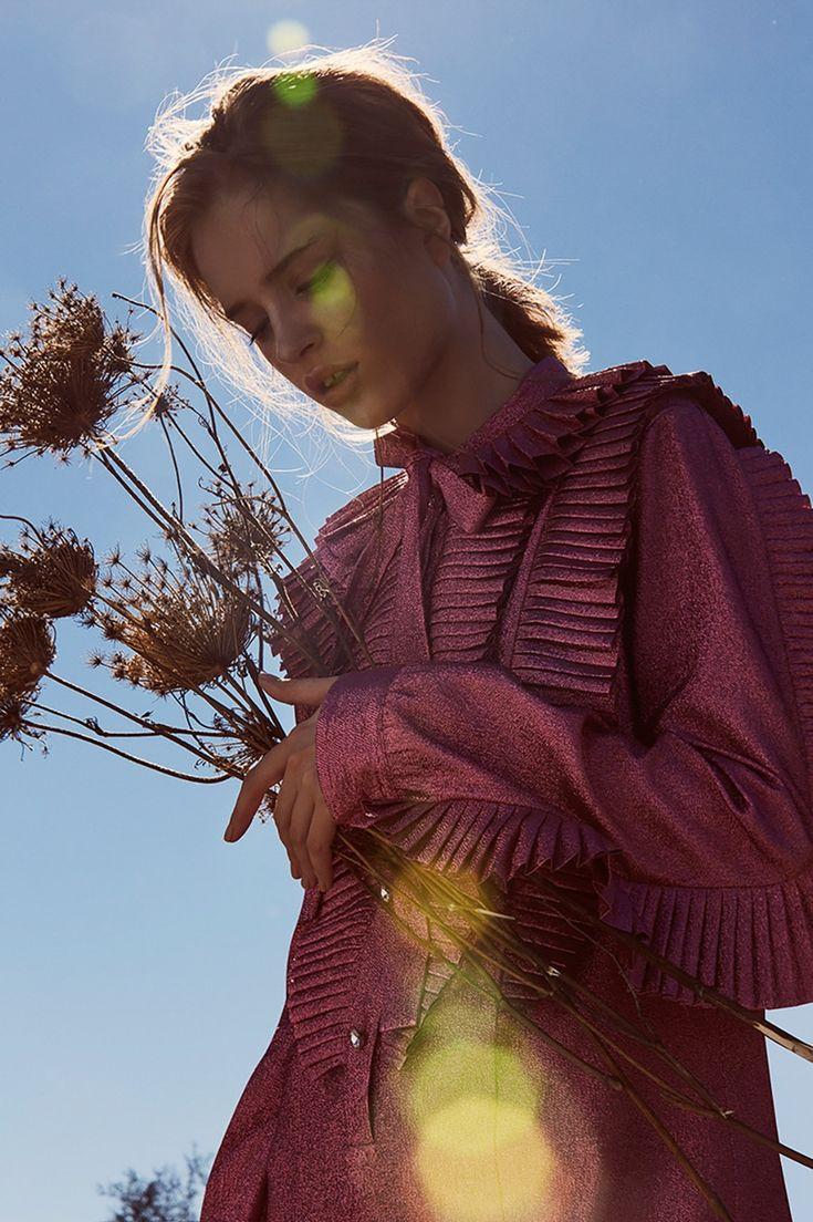 ELLE Croatia March 2018 Masha Demekhina by Carlos Teixeira - Fashion Editorials