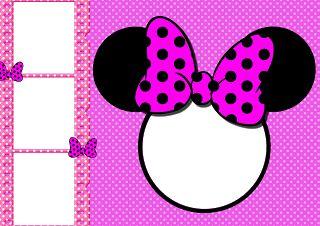 Minnie mouse para enmarcar fotos