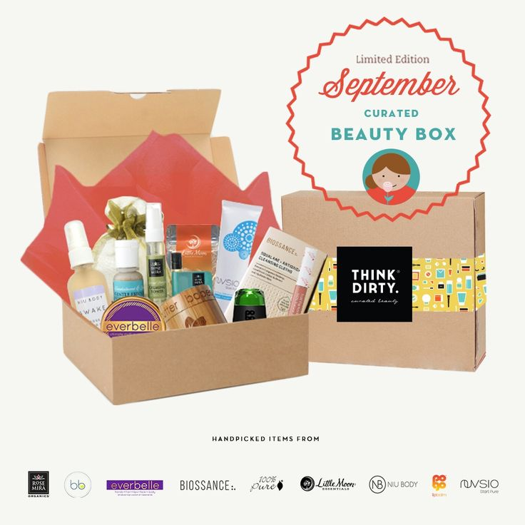 We are partnering with rated clean 0-3 beauty brand sponsors1 who support our mission to bring the most requested beauty box to you. Each box comes with 9 hand-picked, rated clean beauty products, a full she-bang of Think Dirty swag goodies and lots of love. Valued at over $USD 200+, specially offered to you for $USD 95!    The Think Dirty Clean Beauty box is the perfect gift for health-conscious significant others, hard-core yogi friends, or kale-loving besties. Or better yet, show yourself…