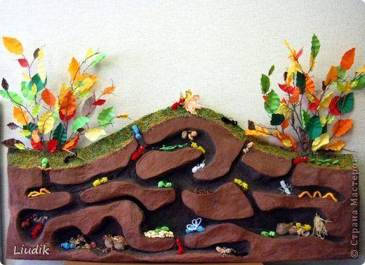 Сделано с детьми и для детей 4 - 5 лет. Основа папье-маше.  фото 1