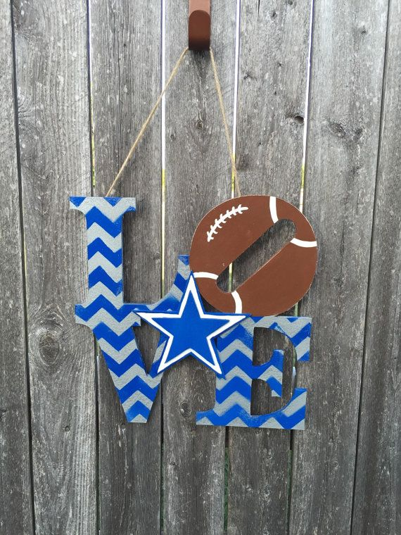 Dallas Cowboys LOVE by iheartmyteam on Etsy
