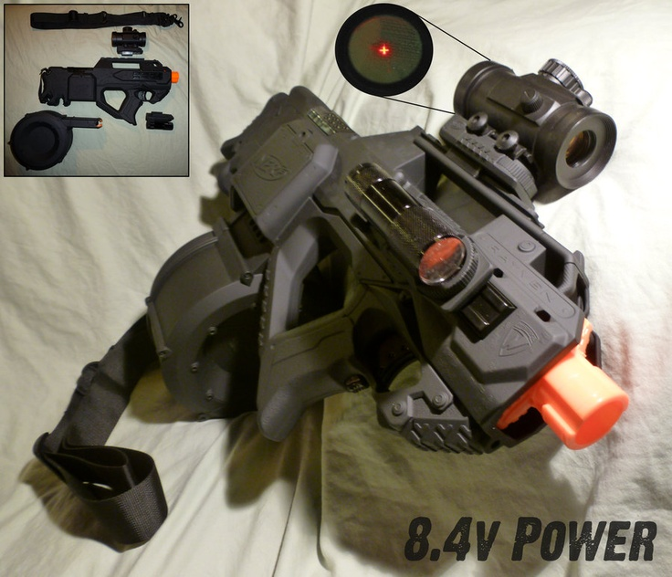 17 Best Images About Awesome Nerf Mods On Pinterest