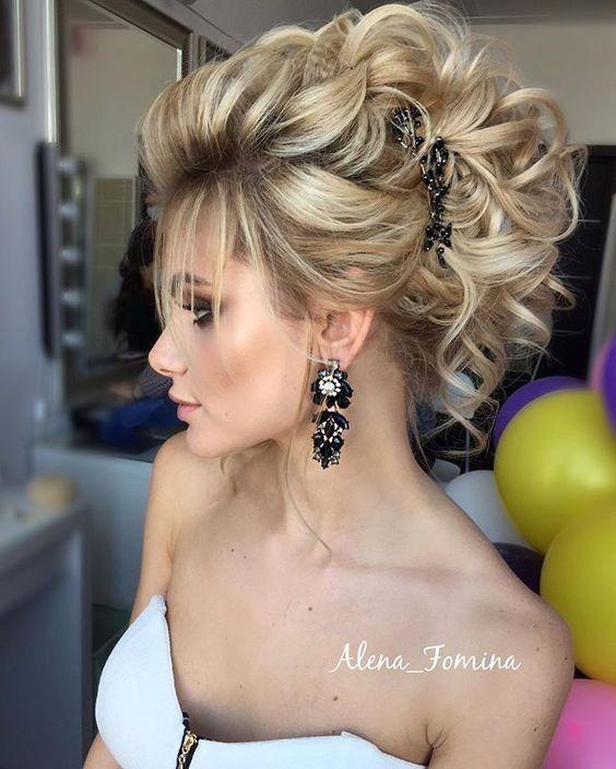 18 elegante Frisuren für Abschlussball 2019, # prom #elegant #phobes # für