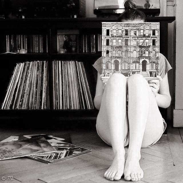 Image result for listen vinyl music in the 70's