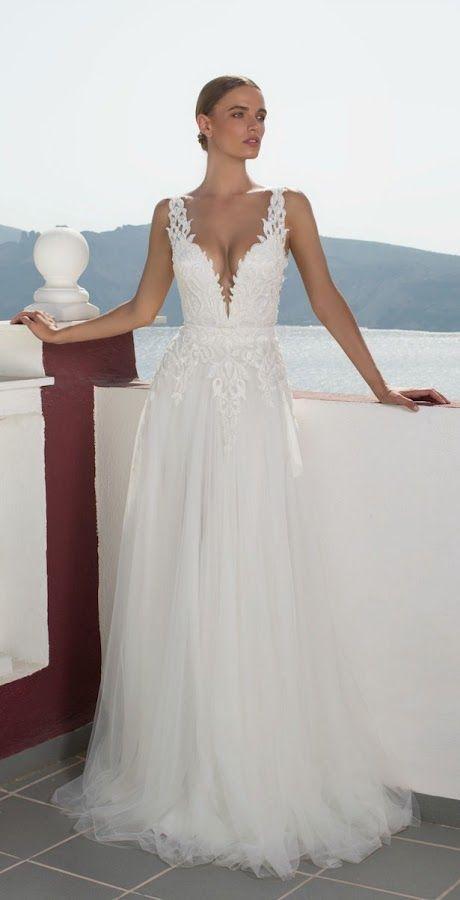 Vestidos de novia de inspiración griega: Julie Vino
