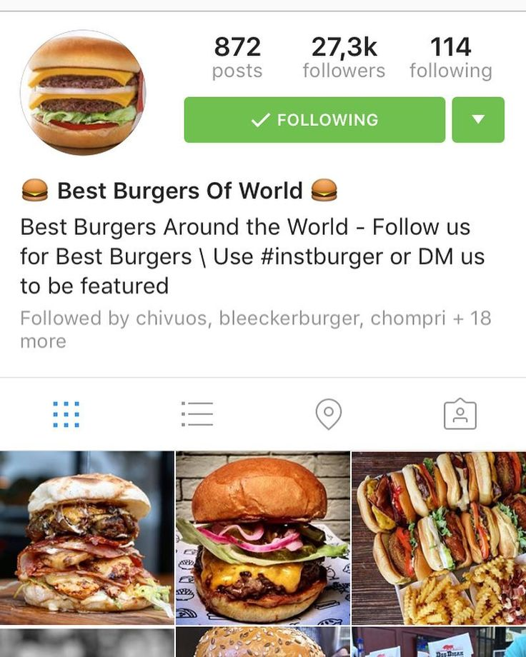 We're stoked to be featured in @instburger with one of our special burgers! Thanks and keep posting!