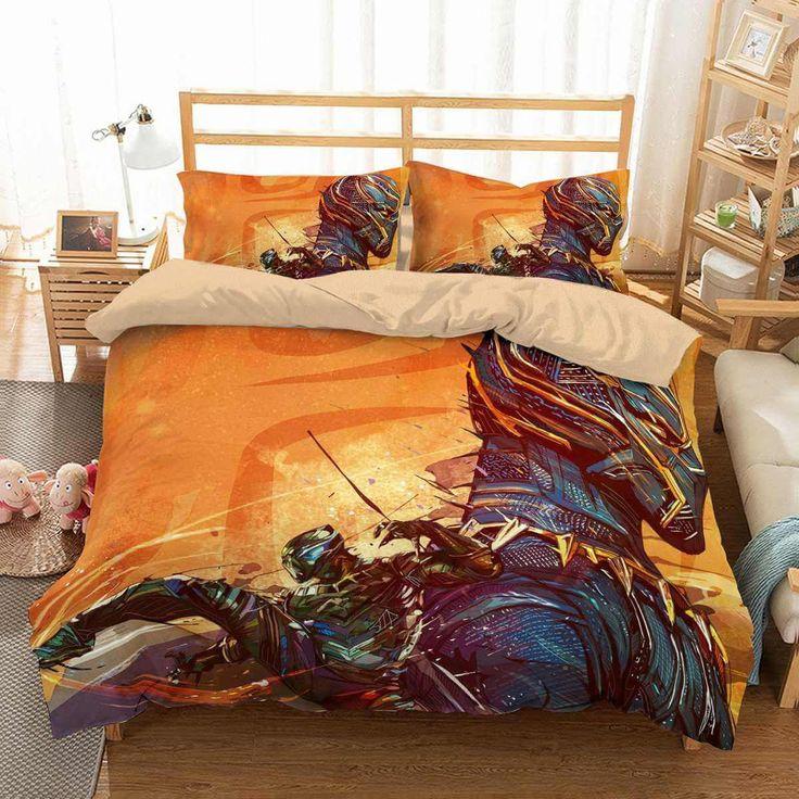 3D Customize Black Panther Bedding Set Duvet Cover Set