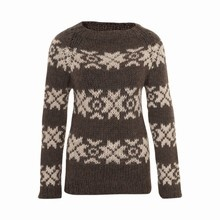 Sweater Traditional alpaca women by Gudrun & Gudrun - ethical knit ware