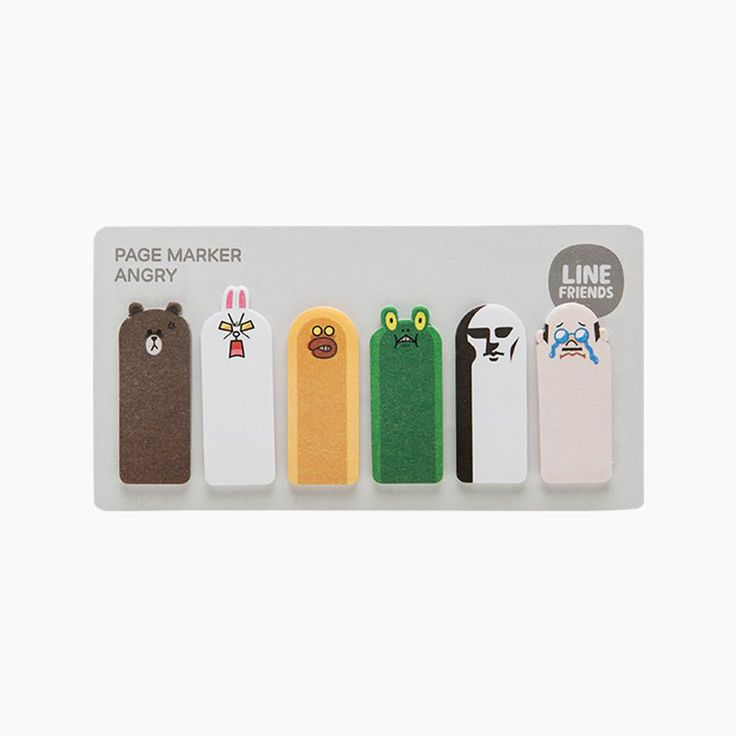 K2POP - NAVER LINE FRIENDS OFFICIAL GOODS : ANGRY PAGEMAKER