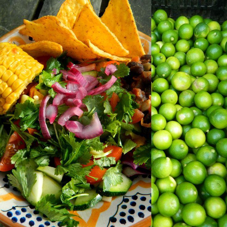 Selinas Ekologiska Meze. Taco Salad & Lime