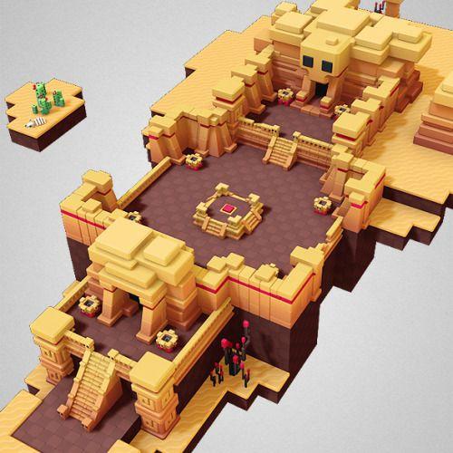 Our new geometric desert building set is now available http://shop.bitgem3d.com/products/prototyper-desert-set