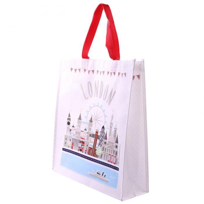 Nákupní taška s motivem London Icons #taska #LondonIcons #shoppingbag #giftware