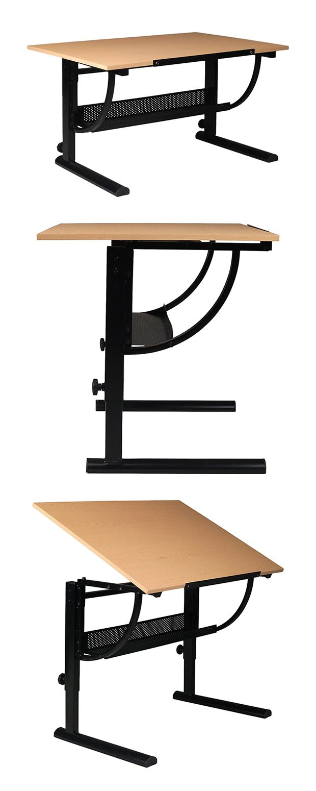 Give yourself the benefit of the best possible environment to create your masterpiece. The Axiom Drafting Table offers a multitude of heights and angles that adjust to your proximate needs for drawing ...  Find the Axiom Drafting Table, as seen in the Tribes' Modern Nomadic Style Collection at http://dotandbo.com/collections/tribes-modern-nomadic-style?utm_source=pinterest&utm_medium=organic&db_sku=113764