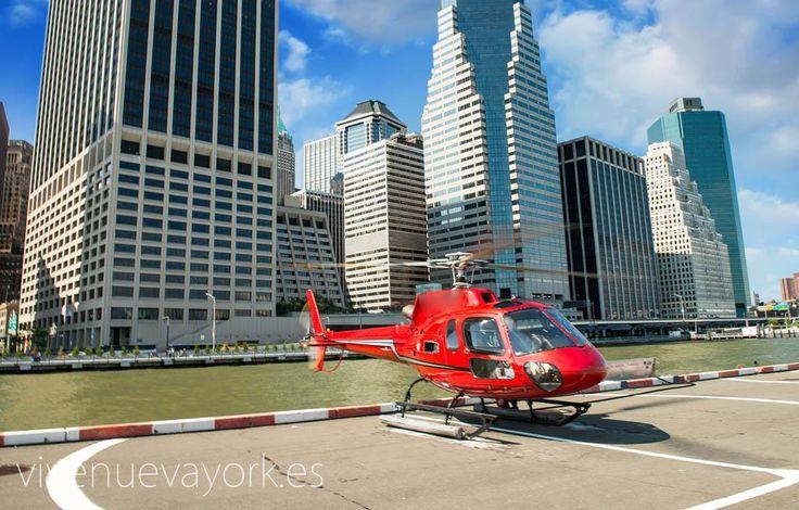 Paseo en helicóptero - Unas vistas espectaculares de la ciudad de Nueva York   Nueva York #newyork #travel #viajar #turismo #sights www.vivenuevayork.es