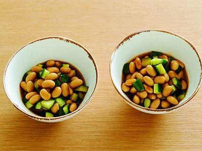 大豆のピリ辛ポン酢漬け ©きょうの料理