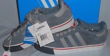 Adidas Campus Vulc MENS Size 7.5 NEW Silver/White Suede Casual Skate Shoes SALE