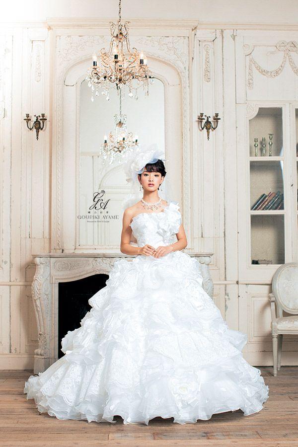 GOURIKI AYAME(剛力彩芽) | ウェディングドレス・カラードレス from エスプリ・ド・ナチュール