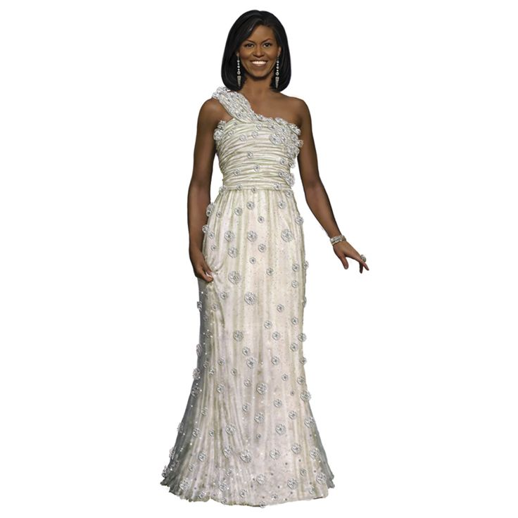 Ashton-Drake's: Michelle Obama Fashion Doll: Inaugural Ball | Michelle Obama: First Lady of Fashion Figurine Collection - Inaugural ...