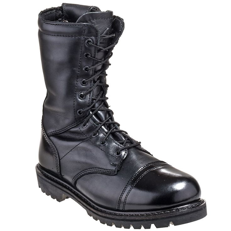 Rocky Boots Men's 2095 Black 10 Inch Insulated Waterproof Jump Boot Duty Boots