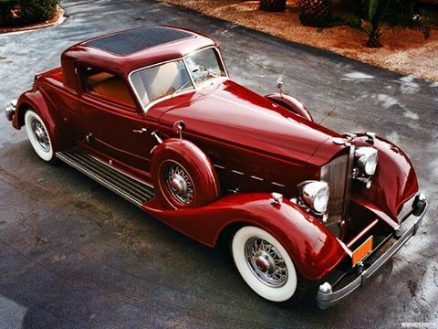 Packard V12 Coupe 1934, Body Courtesy of Dietrich