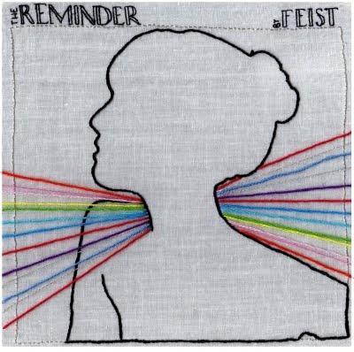 embroidered album cover