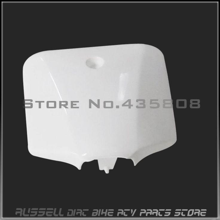 [Visit to Buy]  Number Plate Front Plastic Fender for KAWASAKI KLX110 KX65 Dirt Pit Bikes #Advertisement