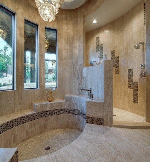 17 Best Images About Walk In Shower Sunken Tub On