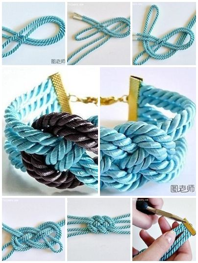17 best images about string bracelets on pinterest for Handmade things step by step
