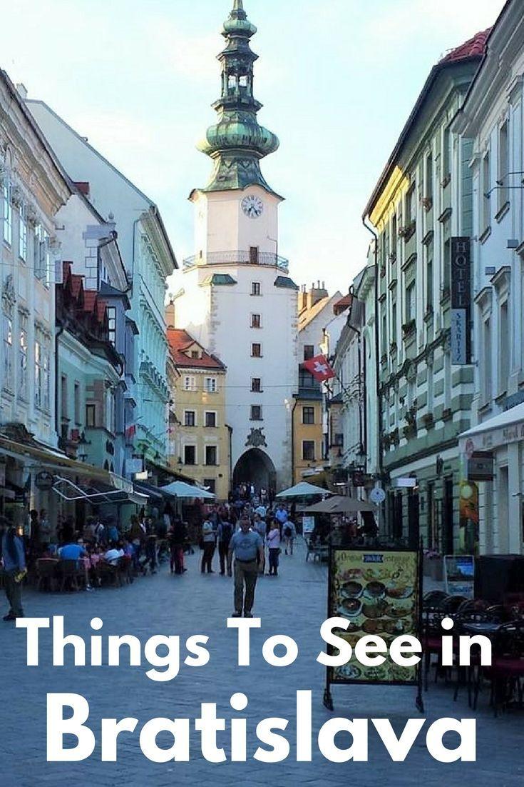 Things to see in Bratislava - An ideal European Weekend City Break