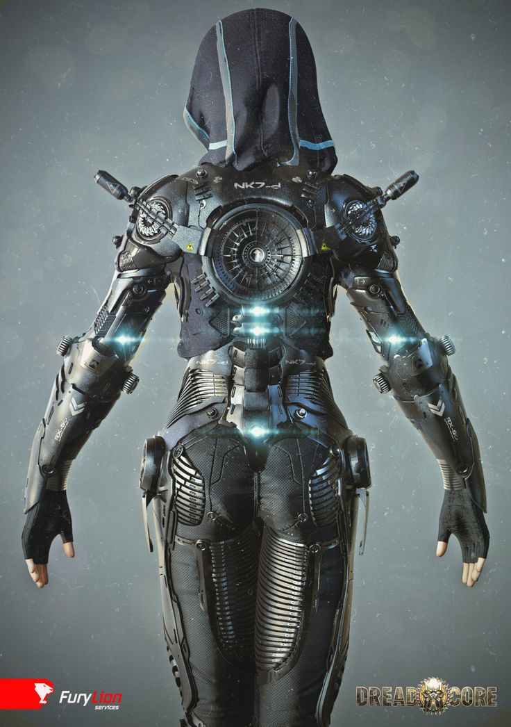 Exoskeleton suit by Mihail Vasilev