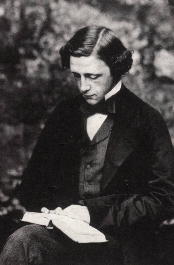 Lewis Carroll - author of Alice Through the Looking Glass/ Alice in Wonderland