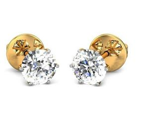Products that inspire: Diamond Earring in Yellow Gold