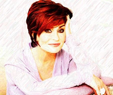 Sharon Osbourne...you could get your hair cut like this