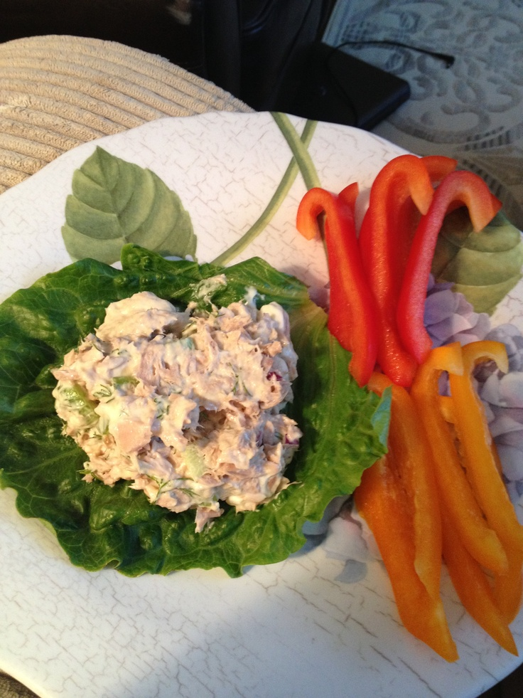 106 best manly low carb images on pinterest kitchens healthy no carb snack tuna with dill on lettuce with orange and red bell peppers food bankpaleolithic dietatkins recipespaleo forumfinder Image collections