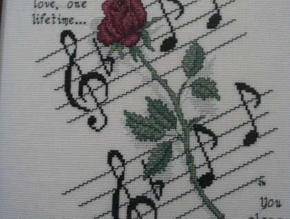 I love the Phantom of the Opera and this cross  stitch pattern was inspired by one of the songs.  You can either purchase a paper copy of this pattern or I can email you a PDF version.   NOTE: If you want the PDF version please choose the 'Rest of the World' postage option and please send me your em...