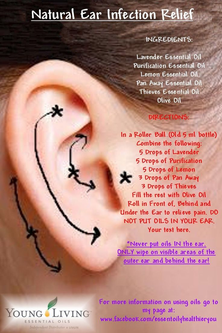 Essential oils for earache ear infection relief and ears on pinterest