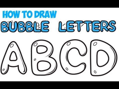 how to draw bubble letters how to draw letters for beginners a z easy for 22281 | 6807846bac4b2dd1481627b7a4b67575 how to draw bubble letters step by step instructional strategies