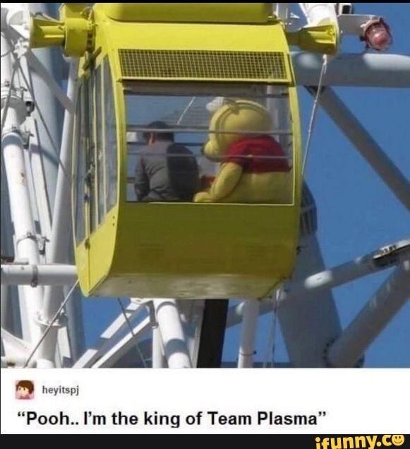 Pooh I M The King Of Team Plasma Ifunny Pokemon Funny Pokemon Pokemon Memes