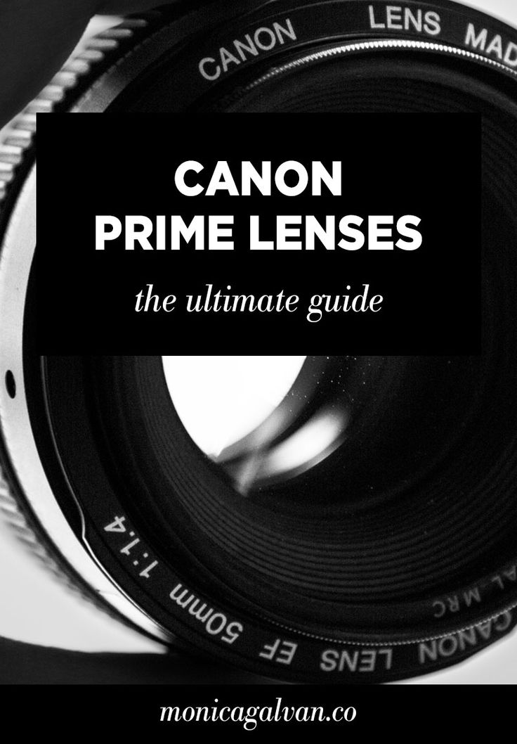 What's a prime lens and which should you use? Check out this guide on Canon prime lenses to help you choose the best prime lens for your photography style.
