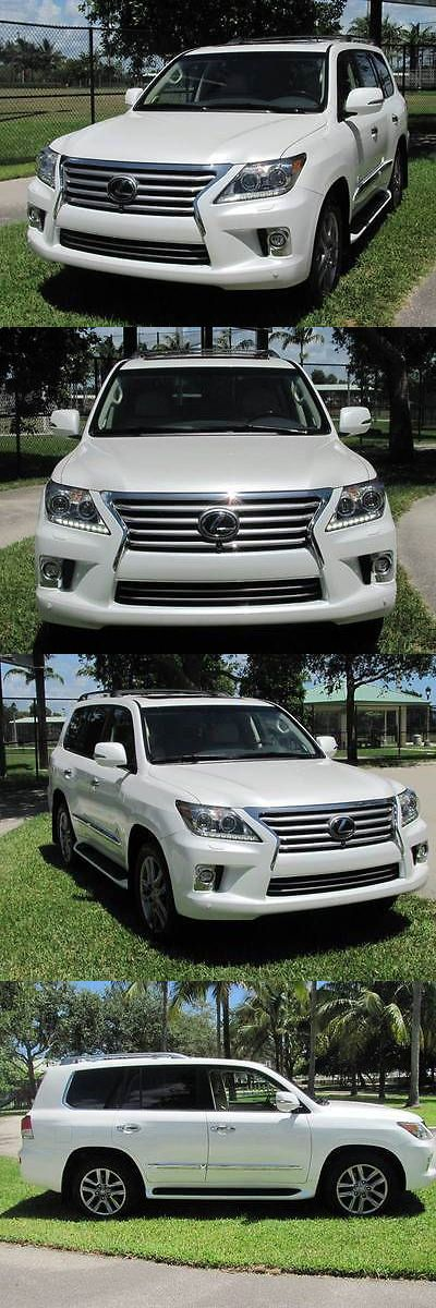 SUVs: 2014 Lexus Lx Base Awd 4Dr Suv 2014 Lexus Lx 570 Base Awd 4Dr Suv 17,500 Miles White Sport Utility -> BUY IT NOW ONLY: $46200 on eBay!