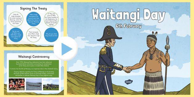 * NEW * Waitangi Day Information PowerPoint