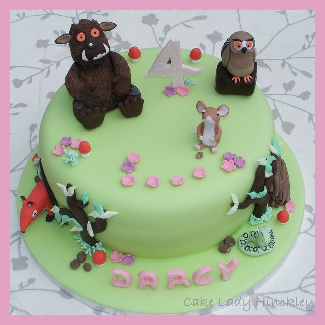Cake Lady Hinckley - My Daughters 4th Birthday Gruffalo Cake | Flickr - Photo Sharing!
