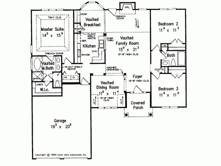 17 best images about split level floor plans on pinterest for Split bedroom floor plans