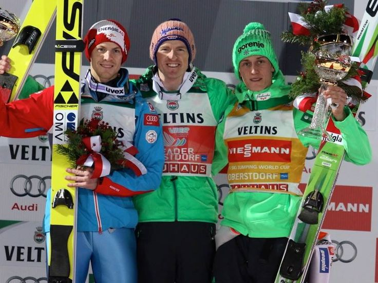 World Cup in Oberstdorf, Germany: 1. Severin Freund (GER) 2. Michael Hayböck (AUT) 3. Peter Prevc (SLO)